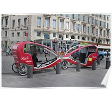 City Tour for 5 EUR Poster
