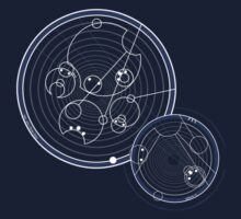 Doctor Who Gallifreyan - Run, you clever boy, Allons-y! by Brit Eddy