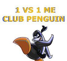 1v1 Me Club Penguin by Ankaruz