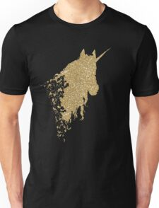 Glitter Unicorn Unisex T-Shirt