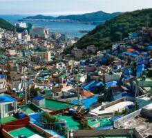 Busan Gamcheon Culture Village (부산 감천문화마을) Sticker