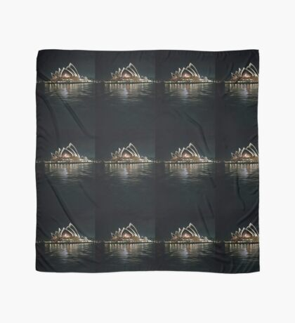 Sydney Opera House at Night Scarf