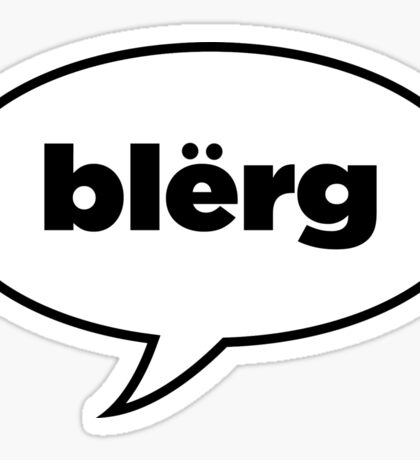 Blërg: Liz Lemon Sticker