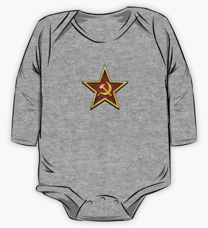 Soviet Gold Star One Piece - Long Sleeve