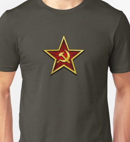 Soviet Gold Star Unisex T-Shirt