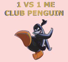 1v1 Me Club Penguin Kids Tee