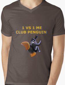 1v1 Me Club Penguin Mens V-Neck T-Shirt