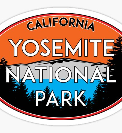 YOSEMITE NATIONAL PARK CALIFORNIA MOUNTAIN HIKING CAMPING CLIMBING 2 Sticker