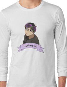 Yuri!!! on Ice - Yuri Katsuki Flower Crown Long Sleeve T-Shirt