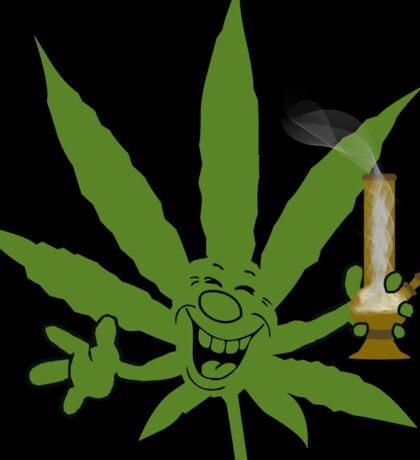 Marijuana Cannabis Weed Funny Sticker