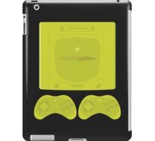 Sega Saturn neon single (black) iPad Case/Skin