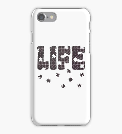 The Puzzle Of Life iPhone Case/Skin