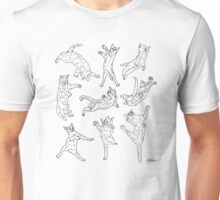 Flying Cats Unisex T-Shirt