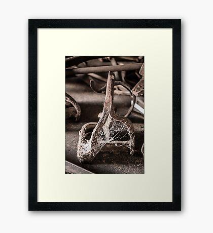 Gathering Dust Framed Print