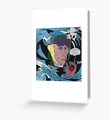 Drowning Gogh Greeting Card