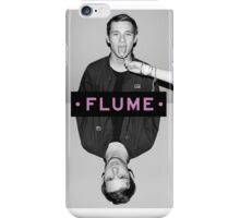 FLUME poster iPhone Case/Skin