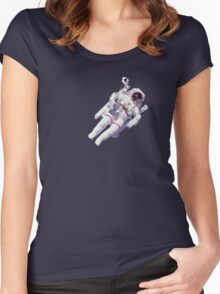 Astonaut Lost in Space Women's Fitted Scoop T-Shirt