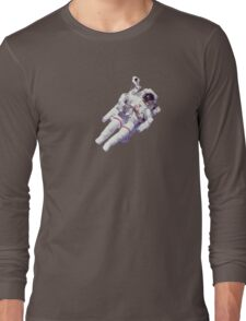 Astonaut Lost in Space Long Sleeve T-Shirt