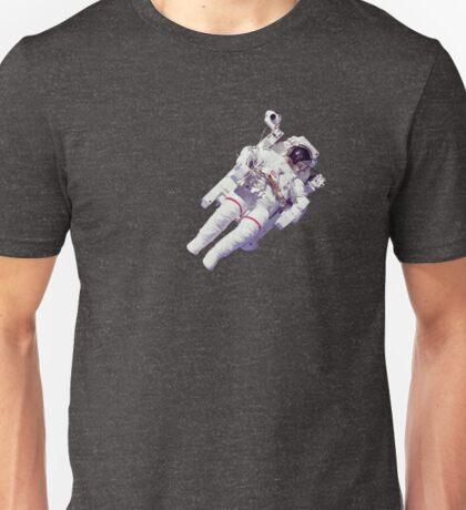 Astonaut Lost in Space Unisex T-Shirt