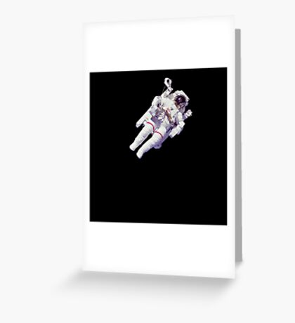Astonaut Lost in Space Greeting Card