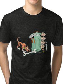 lucky luke Tri-blend T-Shirt