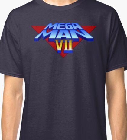 Mega Man 7 (SNES Title Screen) Classic T-Shirt