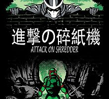 Attack on Shredder (Raph) by GreenHRNET