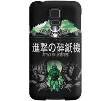 Attack on Shredder (Leo) Samsung Galaxy Case/Skin