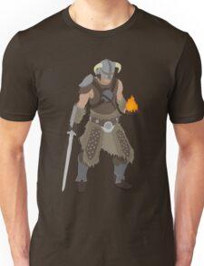 Skryim Dragonborn - Polygonal Unisex T-Shirt