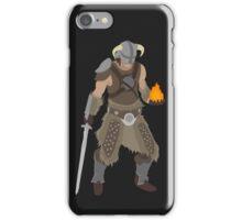 Skryim Dragonborn - Polygonal iPhone Case/Skin
