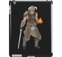 Skryim Dragonborn - Polygonal iPad Case/Skin