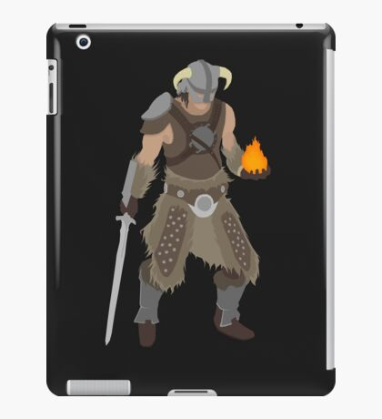 Skryim Dragonborn - Polygonal iPad Case/Skin
