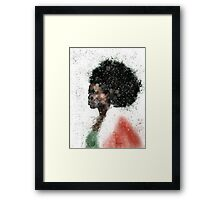 Ebony Elf Framed Print