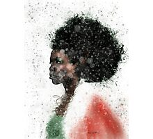 Ebony Elf Photographic Print