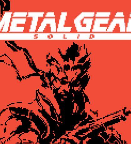 Metal Gear Ghost Babel (GBC Title Screen) Sticker
