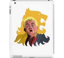 Joffrey dying painfully  iPad Case/Skin