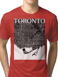 Toronto (Black) Tri-blend T-Shirt