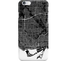 Toronto (Black) iPhone Case/Skin