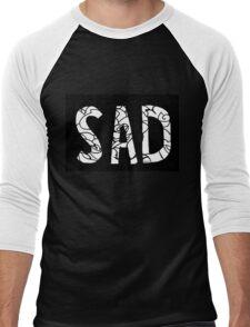 sad Men's Baseball ¾ T-Shirt