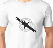 Bicycle chain ring Unisex T-Shirt