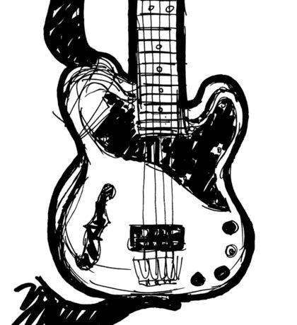 THE bass Sticker