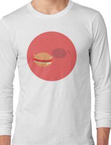 Fast fat food Long Sleeve T-Shirt