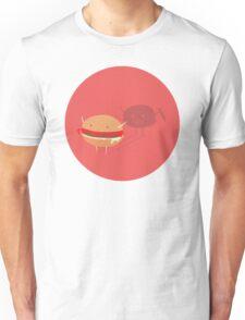 Fast fat food Unisex T-Shirt