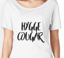 Hygge cougar Women's Relaxed Fit T-Shirt