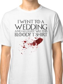 Bloody Wedding Classic T-Shirt