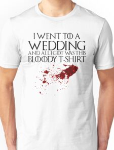 Bloody Wedding Unisex T-Shirt