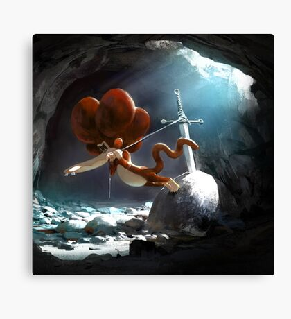 Tzika - sword Canvas Print
