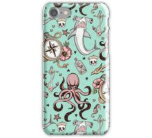 Octopus and Hammerhead Pattern iPhone Case/Skin