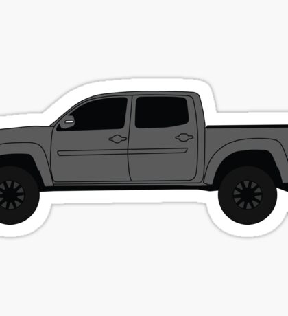 Grey Toyota Tacoma Sticker