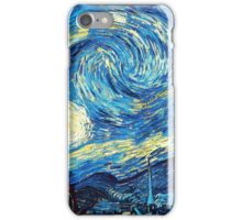 Starry Night Vincent Van Gogh Oil Painting iPhone Case/Skin